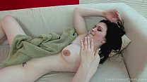 beautiful black haired babe gets nicely penetrated