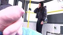 dude caught wanking in public train