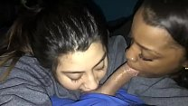ffm blowjob these two teens from blacklaid.com love sharing my dick pov