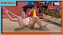 ivana spanovic new video beautiful serbian long jumper