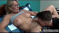 stepmom teaches sex to stepson