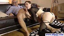 tall amateur eurobabe enjoys raunchy sex